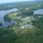 Flygfoto Dalslands Camping